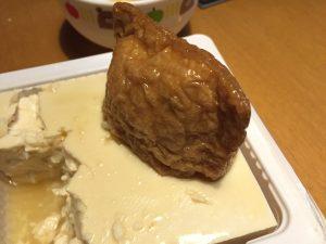 きつねうどん(今日の豆腐)