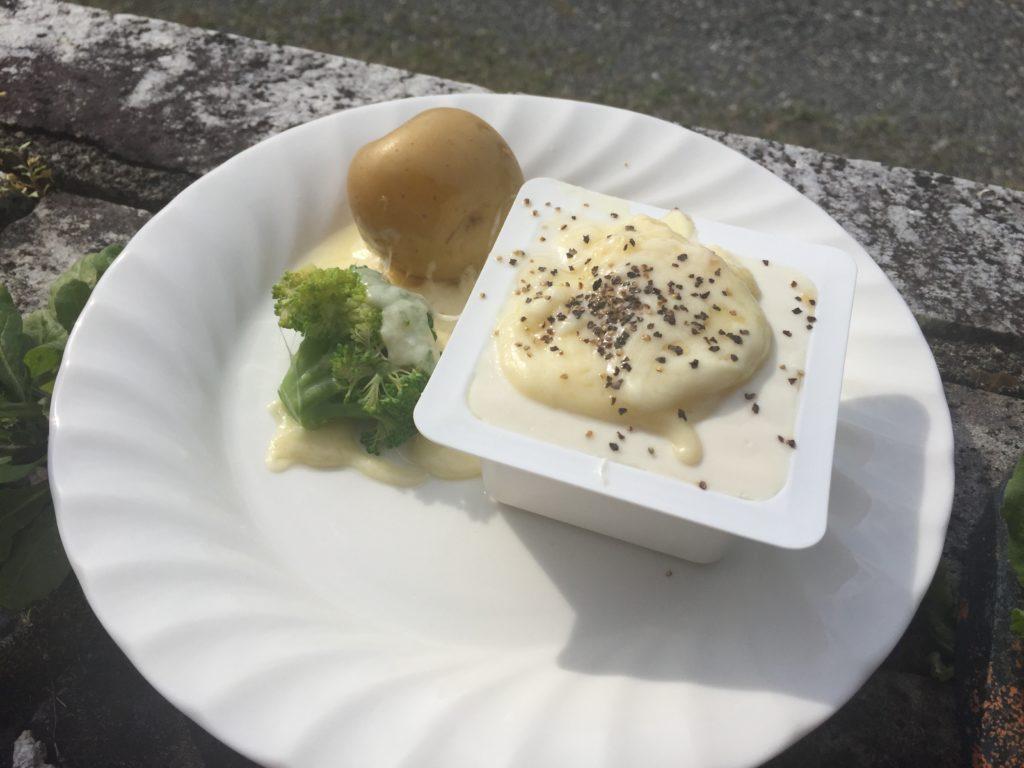 ラクレット(今日の豆腐)