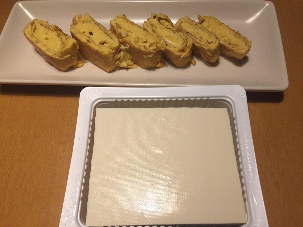 出汁巻き卵(今日の豆腐)